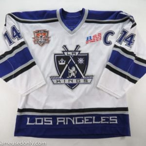Mattias_Norstrom_Los_Angeles_Kings_Game_Used_Jersey_2001