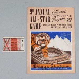 1941-major-League-Baseball-All-Star-Program
