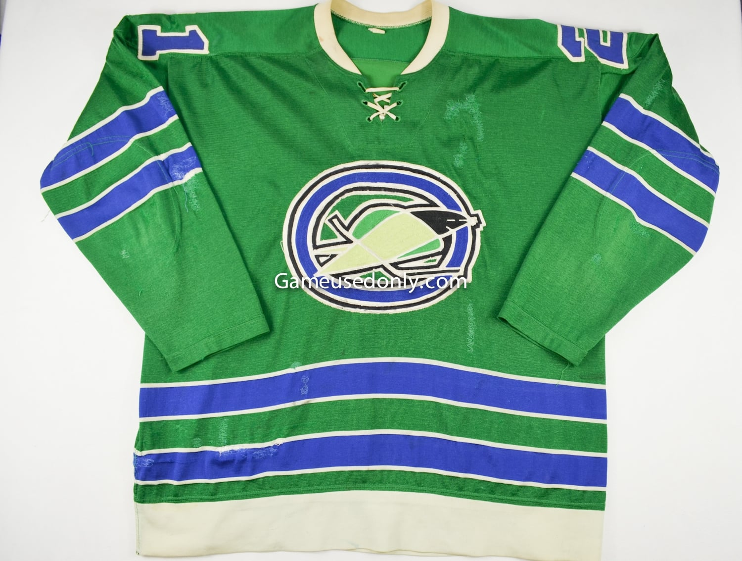 Bobby_Baun_Game_Used_Jersey_1967_Oakland_Seals_NHL_Expansion