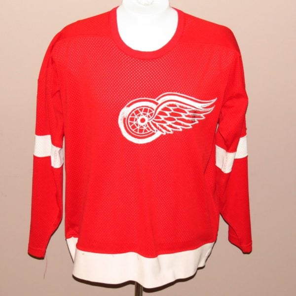 Detroit-Red-Wings-John-Ogrodnick-Game-Used-Jersey