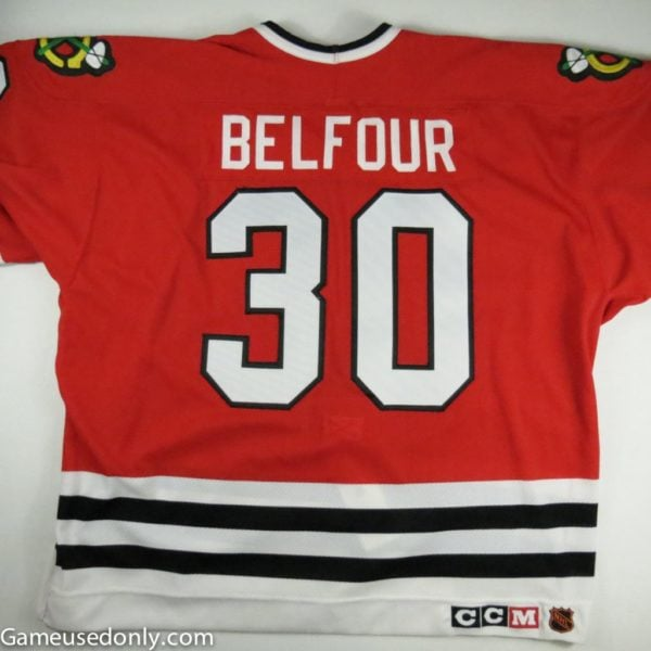 Ed_Belfour_NHL_Hall_Of_Fame_Game_Used_Jersey_Chicago_Black_Hawks_1994