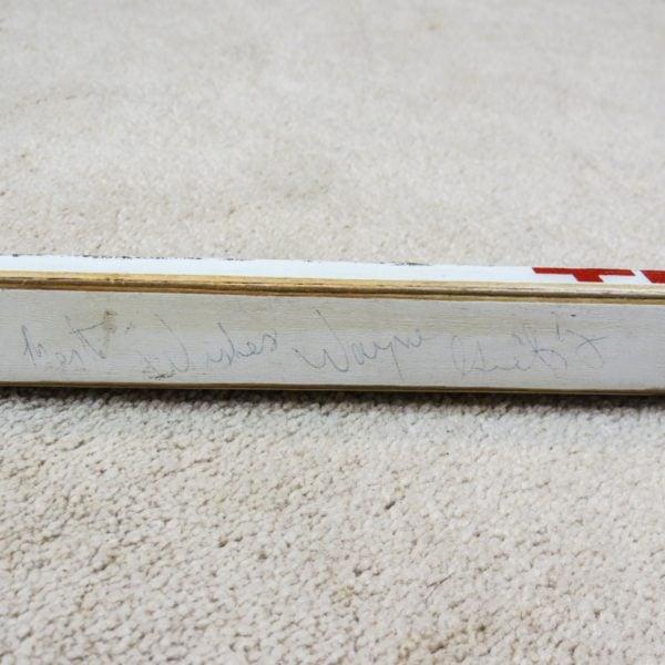 Wayne-Gretzky-Autographed-Rookie-Game-Used-Stick