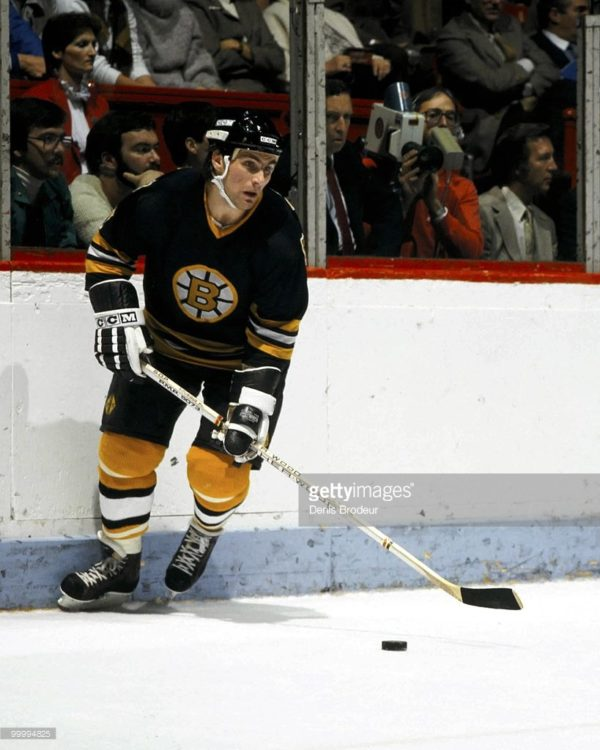 Ray-Bouqrque-Photo-Matched-Jersey-Boston-Bruins-1982