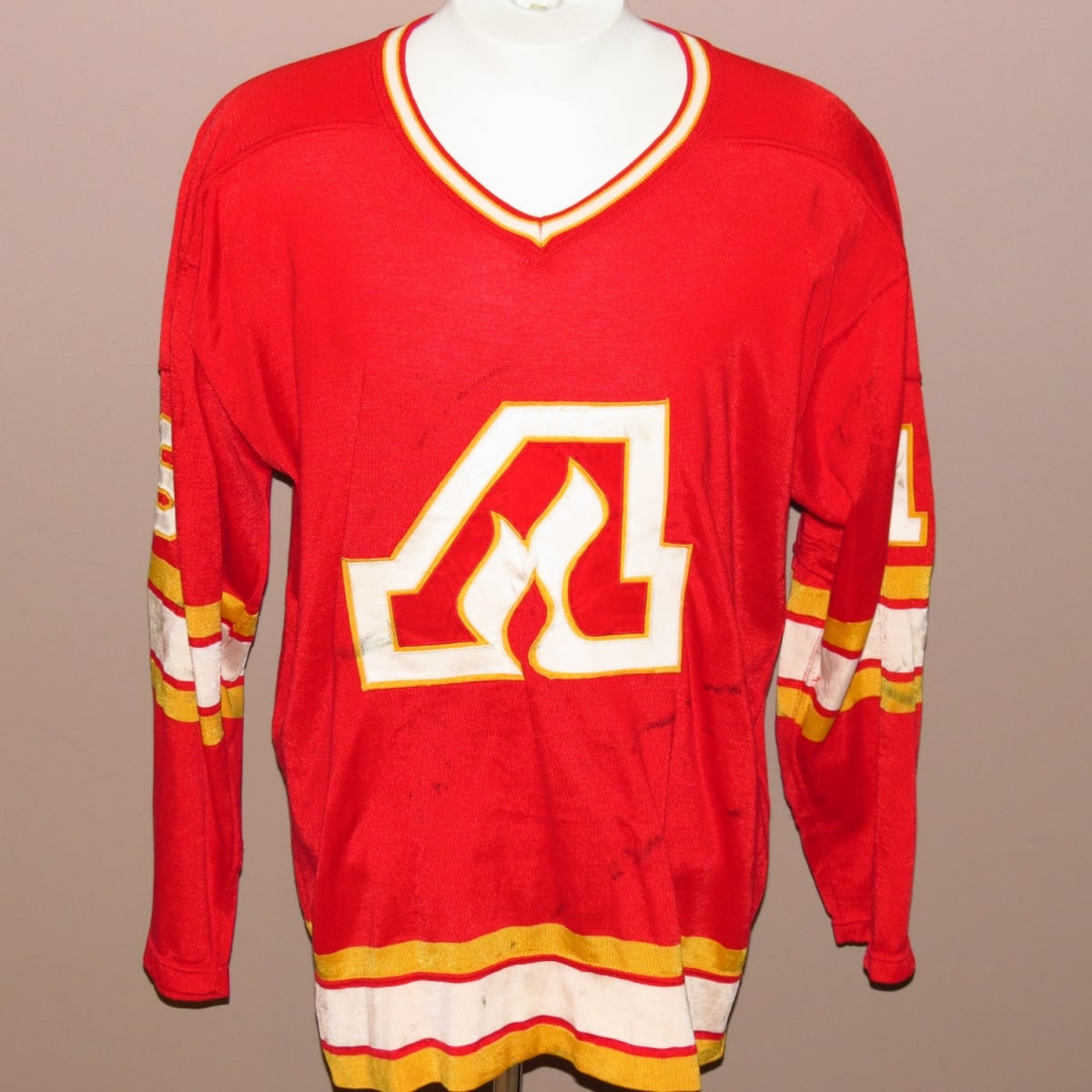Ray-Comeau-Atlanta-Flames-Game-Used-Jersey