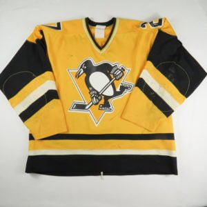 Rod_Schutt_Game_Used_Jersey_Pittsburgh_Penguins_Sunday_Gold