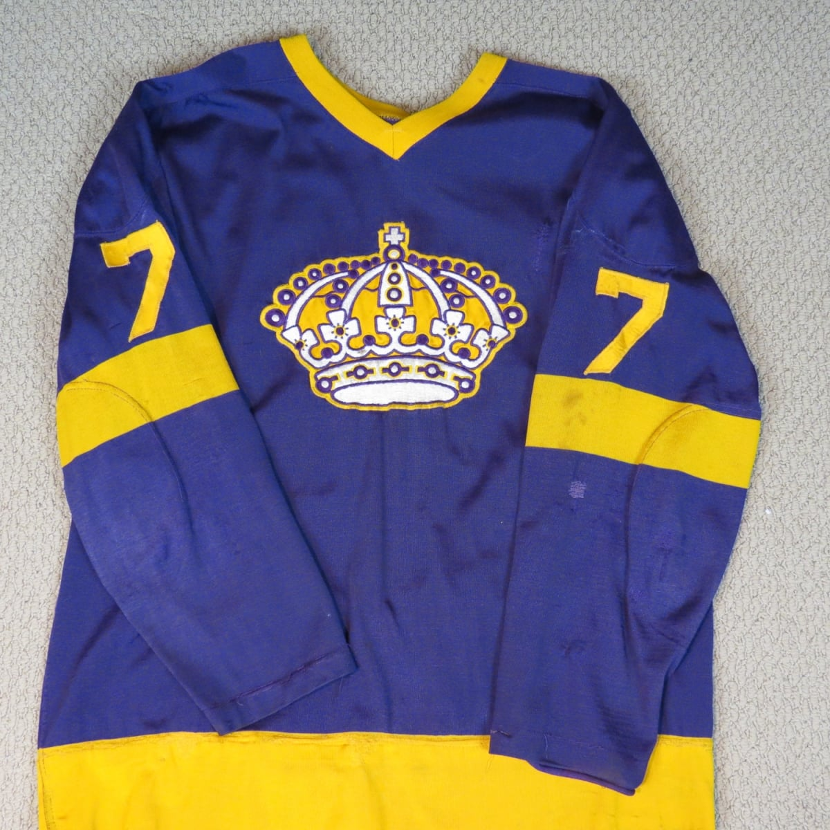 Skip-Krake-LA-Kings-Game-Used-Jersey