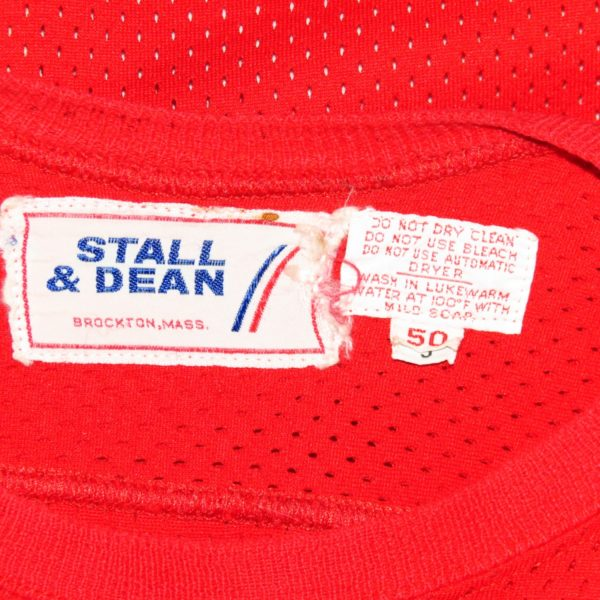 Stall-Dean-Tagging-red-Wings-NHL-Used-Jersey