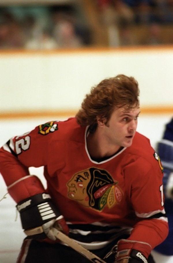 Tom lysiak 1980 toronto maple leafs worn jersey