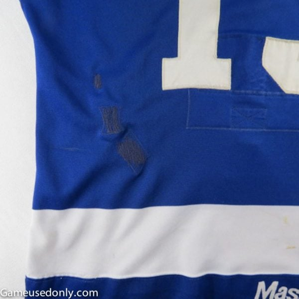 Toronto-Maple-Leafs-Jersey-Repairs-Maska-1981-Used-Jersey-Maple-Leaf-Gardens
