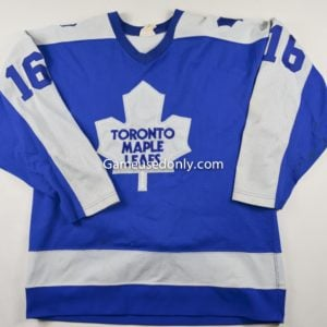 Toronto-Maple-Leafs-Maska-Jersey-Pat-Hickey-1980