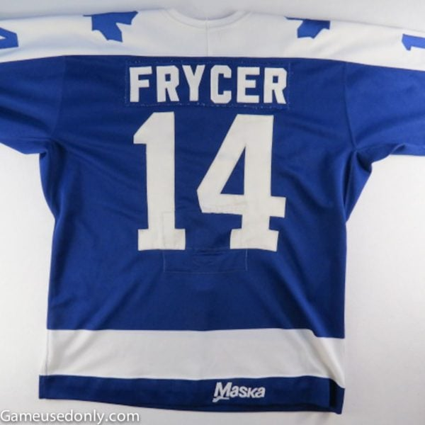 Toronto-Maple-Leafs-Miroslav-Frycer-Maska-Jersey
