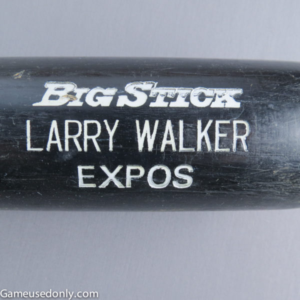 Larry-Walker-Game-Used-Bat-Montreal-Expos-1990