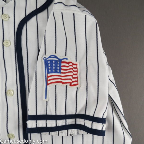 Robin-Ventura-1990-American-Flag-Used-Jersey