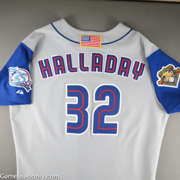 Roy-Halladay-Used-Jersey-Worn-2001