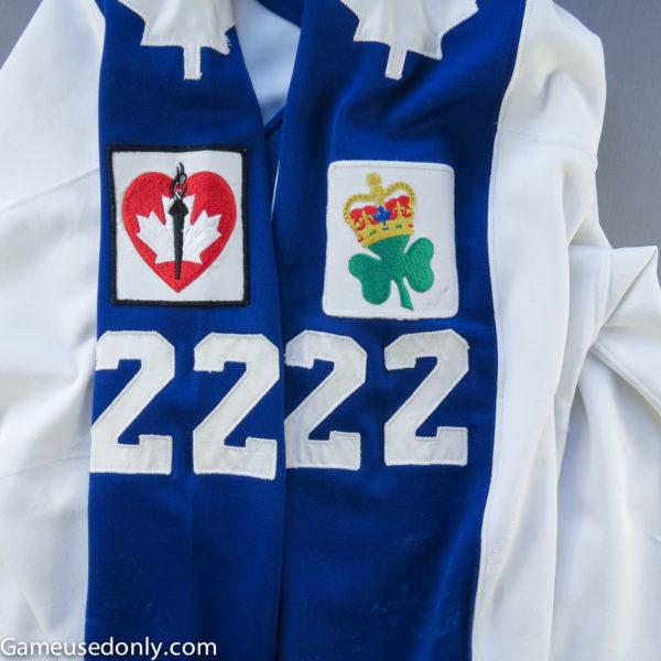 Toronto-Maple-Leafs-1986-1987-Jersey-King-Clancy-Patch-Heart-Stroke-Patch