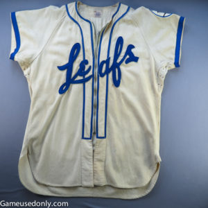 Toronto-Maple-Leafs-Baseball-Game-Used-Jersey-Jack-Kent-Cooke