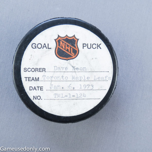 Toronto-Maple-Leafs-Used-Puck-Maple-Leaf-Gardens