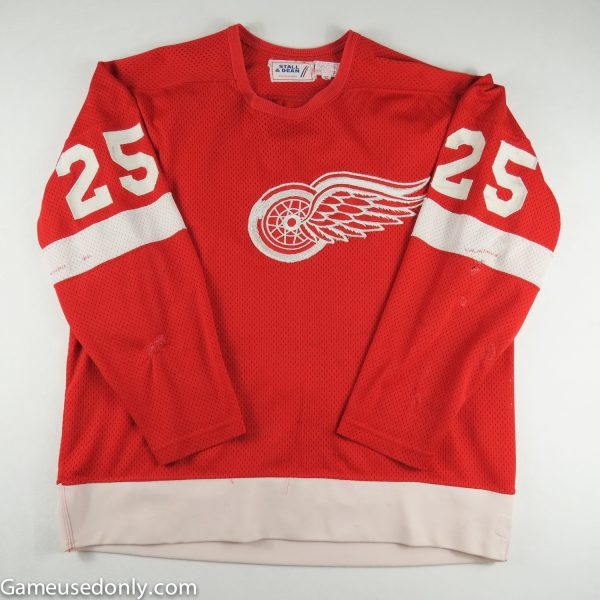 John-Ogrodnick-Detroit-Red-Wings-Game-Used-Rookie-Jersey