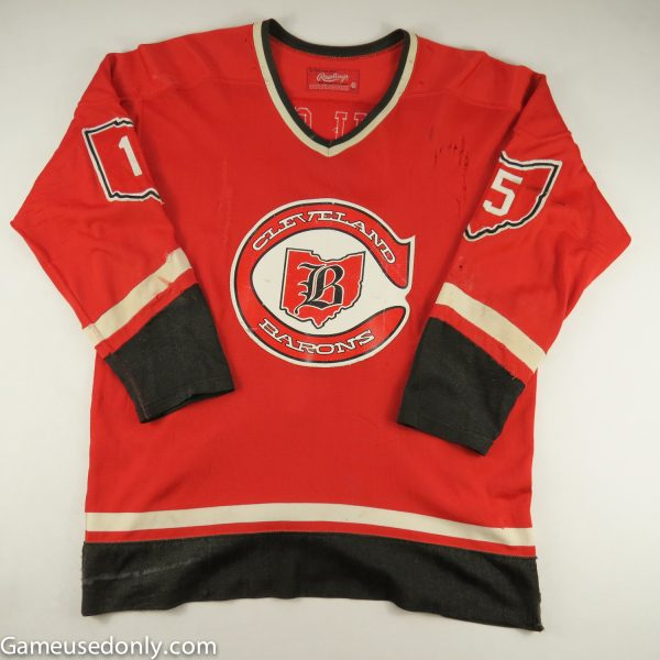 Cleveland-Barons-1976-1977-game-Used-Worn-Jersey-Jim-Neilson