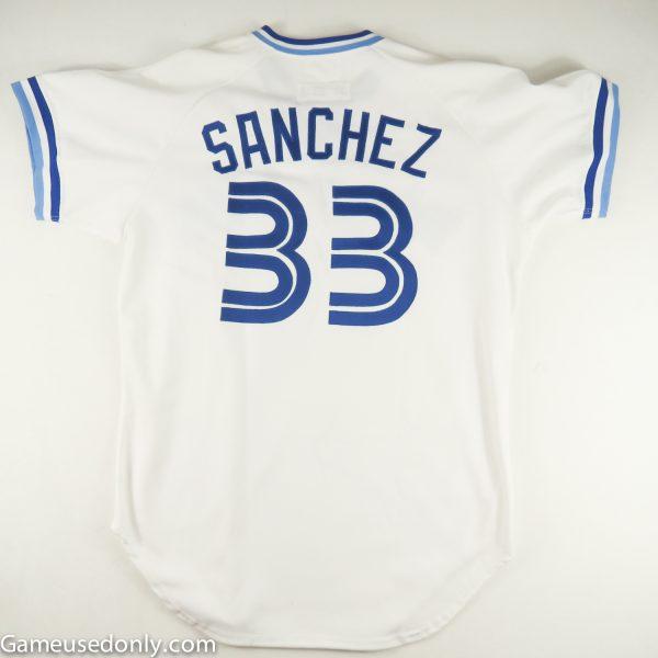 UCLA-Alex-Sanchez-1988-Toronto-Blue-Jays-Worn-Jersey