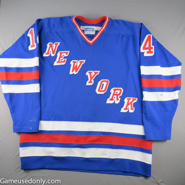 New-York-Rangers-Game-Used-Jersey-1980-1981-Mike-Allison-Madison-Square-Garden