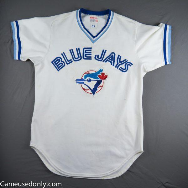 Toronto-Blue-Jays-Game-Used-Worn-Jersey-1982-Wayne-Nordhagen