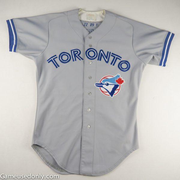 Jimmy-Key-Toronto-Blue-Jays-Game-Used-Worn-Jersey-1989