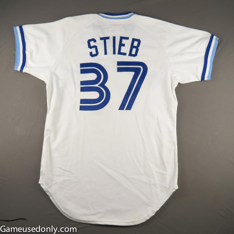 Dave-Stieb-Game-Used-Worn-Jersey-Toronto-Blue-Jays-1982
